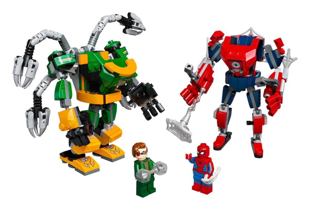 LEGO Marvel 76198 Spider Man Doctor Octopus Mech Battle 1