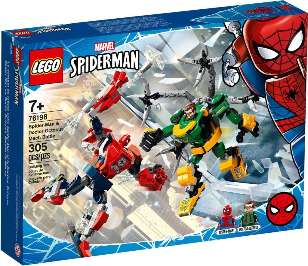 LEGO Marvel 76198 Spider Man Doctor Octopus Mech Battle 2