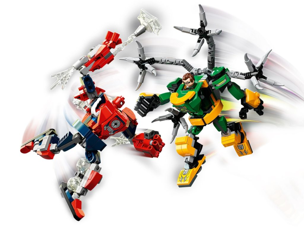 LEGO Marvel 76198 Spider Man Doctor Octopus Mech Battle 3