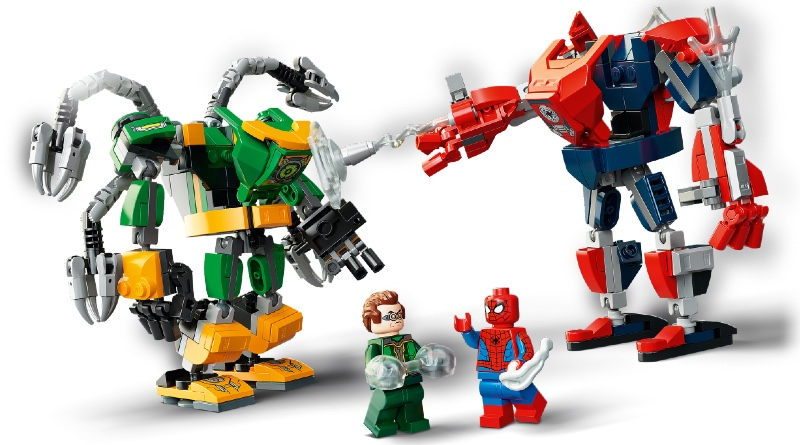 LEGO Marvel 76198 Spider Man Doctor Octopus Mech Battle Featured