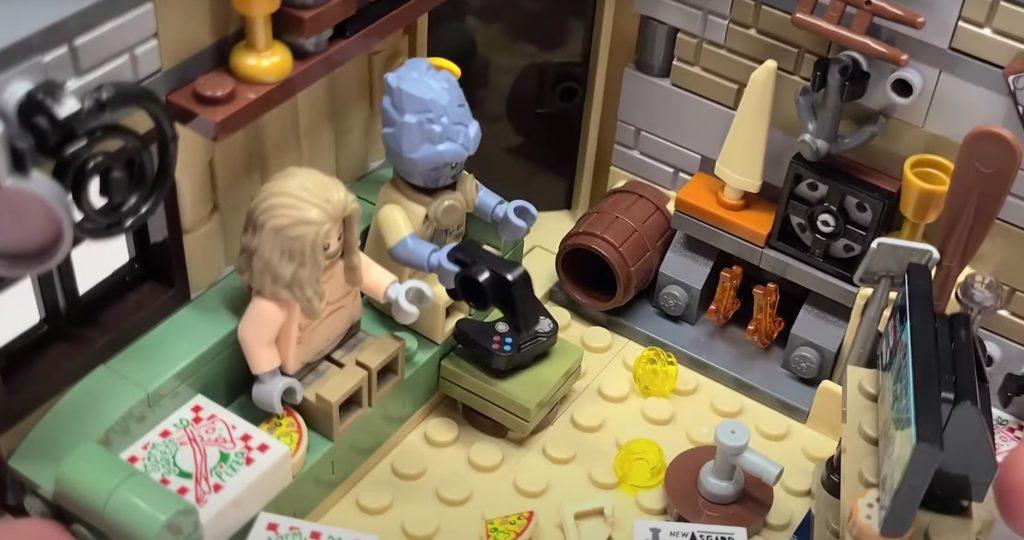 LEGO Marvel 76200 Bro Thors New Asgard beer barrel reference