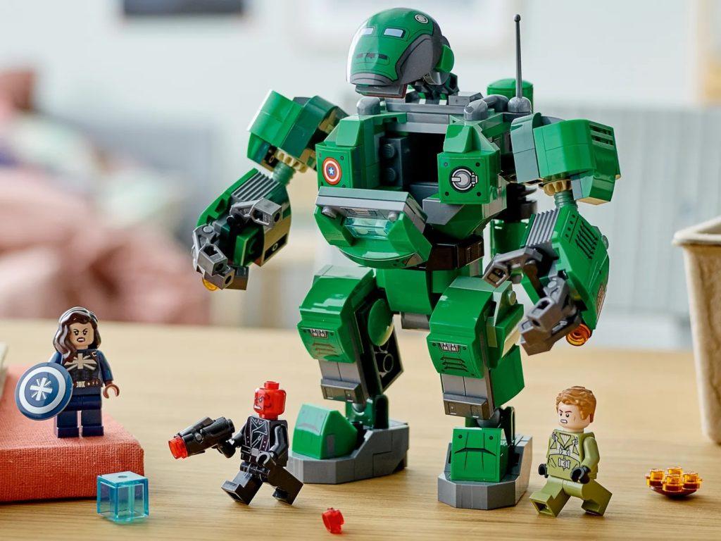 LEGO Marvel 76201 Captain Carter The Hydra Stomper 8