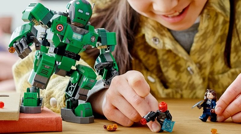 LEGO Marvel 76201 Captain Carter The Hydra Stomper featured