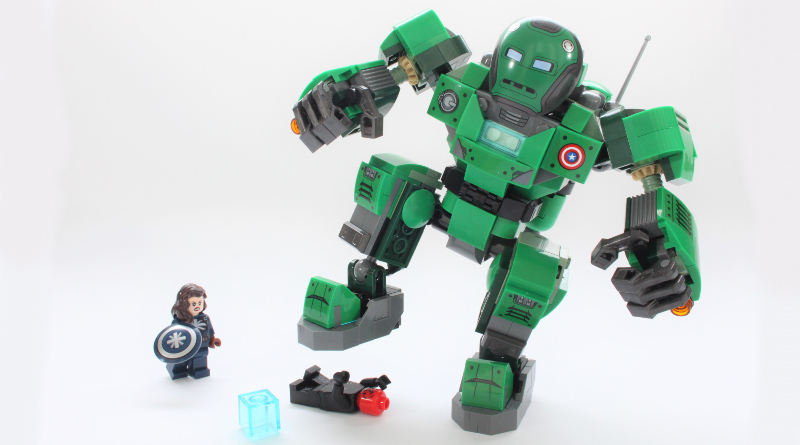 LEGO Marvel 76201 Captain Carter The Hydra Stomper Review Featured