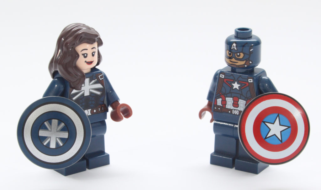 LEGO Marvel 76201 Captain Carter and the Hydra Stomper Minifigure 14