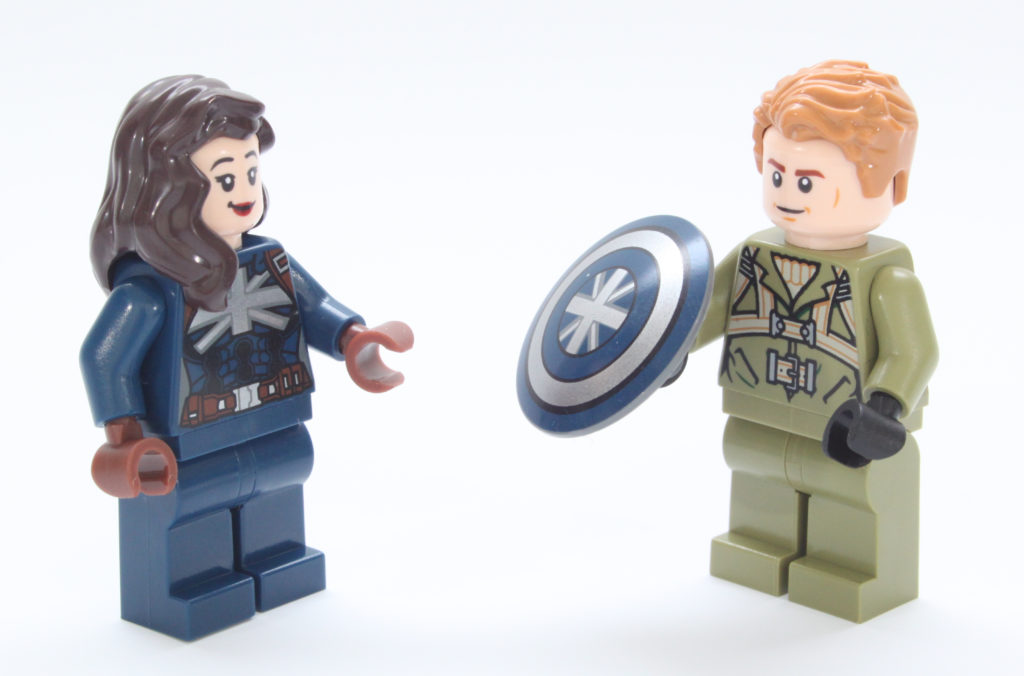 LEGO Marvel 76201 Captain Carter and the Hydra Stomper Minifigure 15