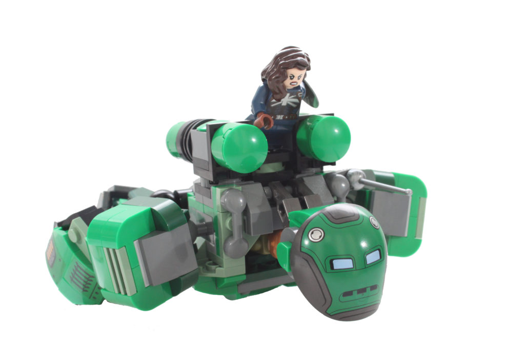 LEGO Marvel 76201 Captain Carter and the Hydra Stomper pose 1 new