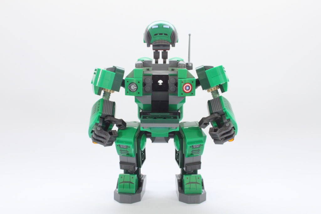 LEGO Marvel 76201 Captain Carter and the Hydra Stomper review open 1