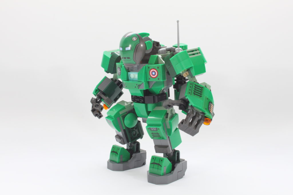 LEGO Marvel 76201 Captain Carter and the Hydra Stomper review spin 2