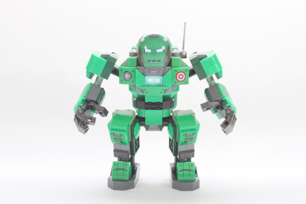 LEGO Marvel 76201 Captain Carter and the Hydra Stomper review spin 3