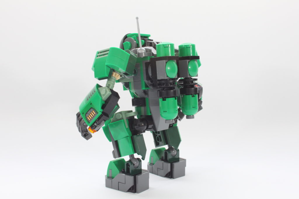 LEGO Marvel 76201 Captain Carter and the Hydra Stomper review spin 4