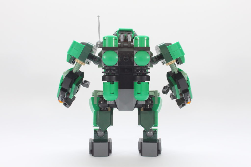 LEGO Marvel 76201 Captain Carter and the Hydra Stomper review spin 5