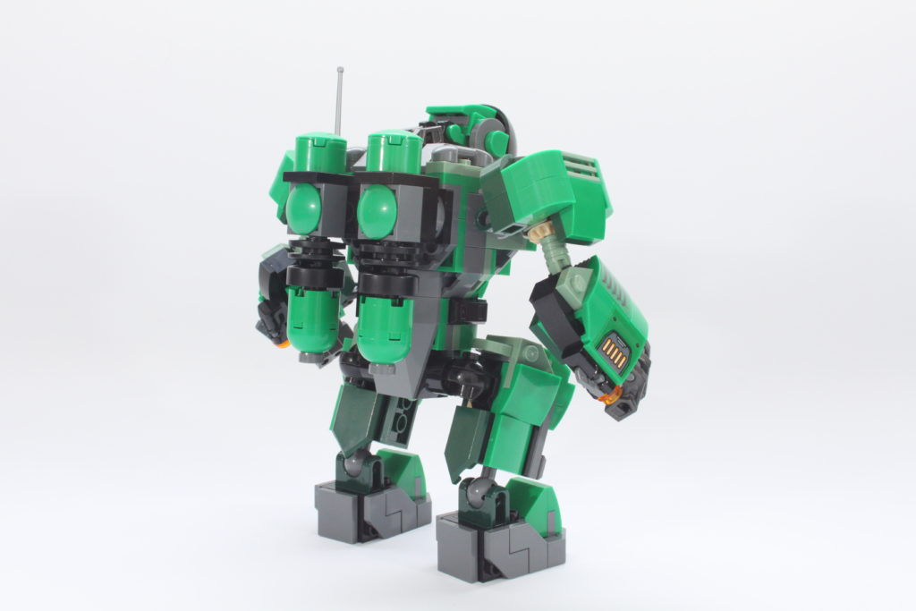 LEGO Marvel 76201 Captain Carter and the Hydra Stomper review spin 6