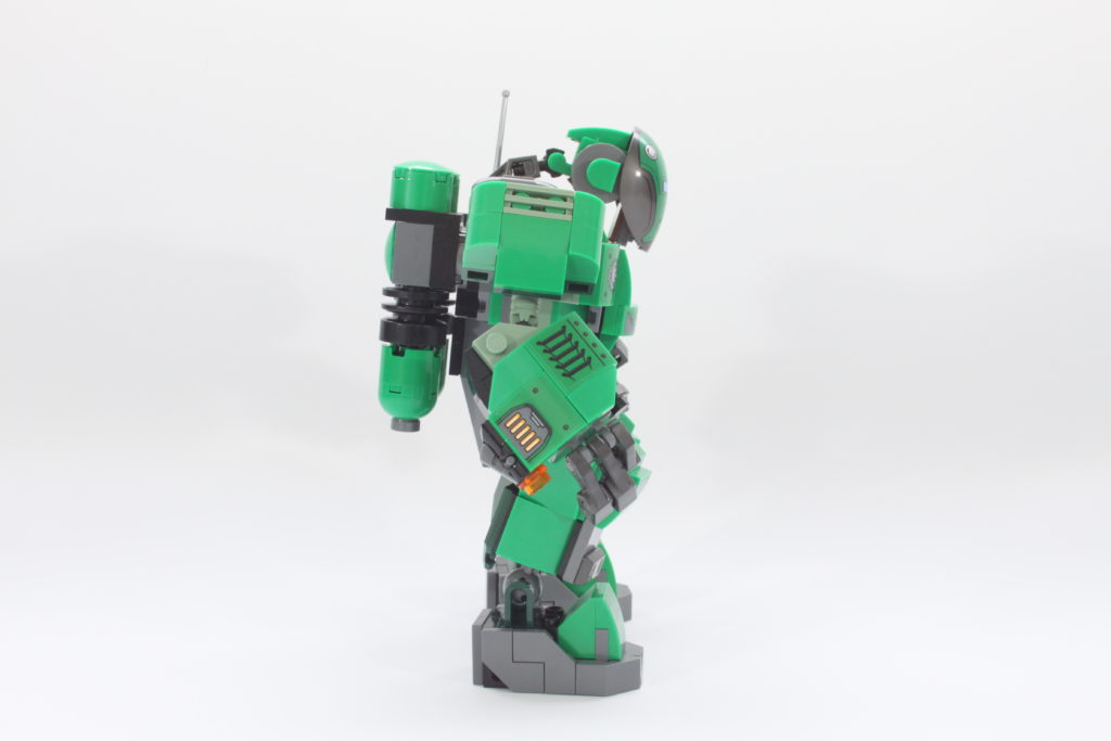 LEGO Marvel 76201 Captain Carter and the Hydra Stomper review spin 7