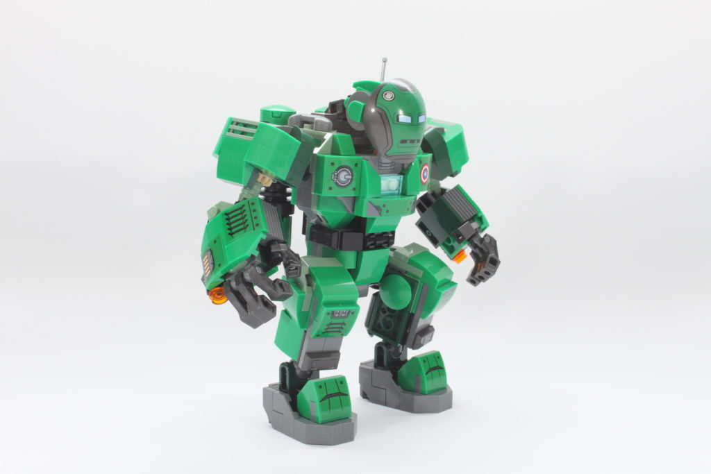 LEGO Marvel 76201 Captain Carter and the Hydra Stomper review spin 8
