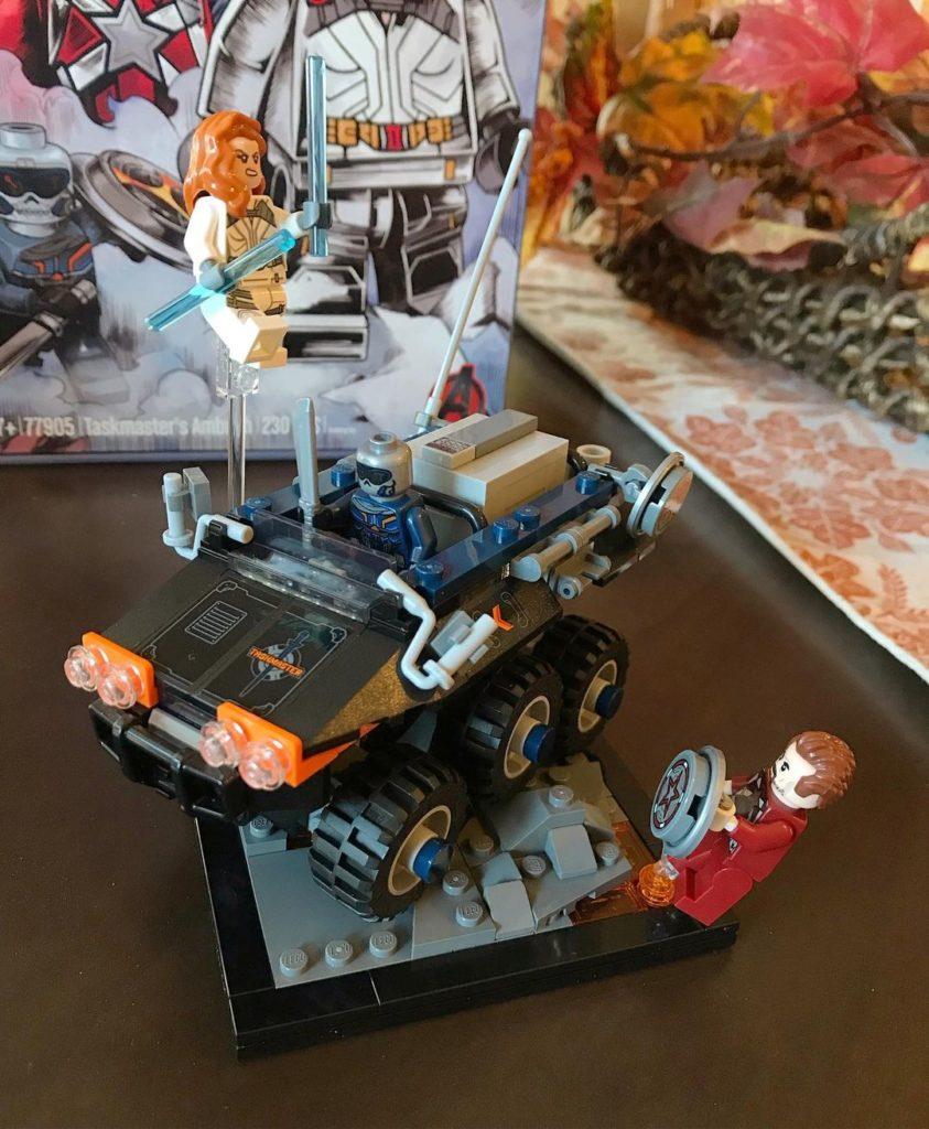 LEGO Marvel 77905 Taskmasters Ambush LDC