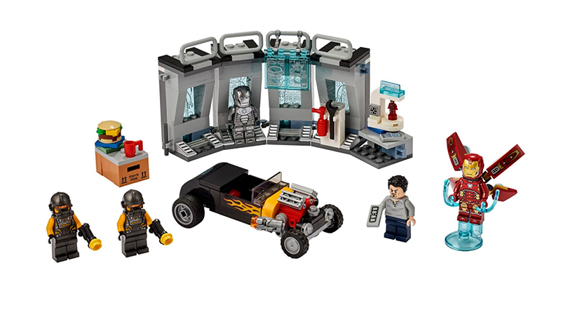 LEGO Marvel Acengers 76167 Iron Man Armory 2 Featured