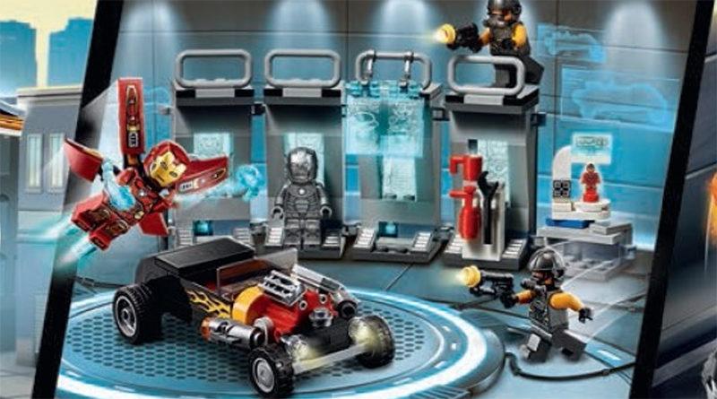 LEGO Marvel Acengers 76167 Iron Man Armory 800x445