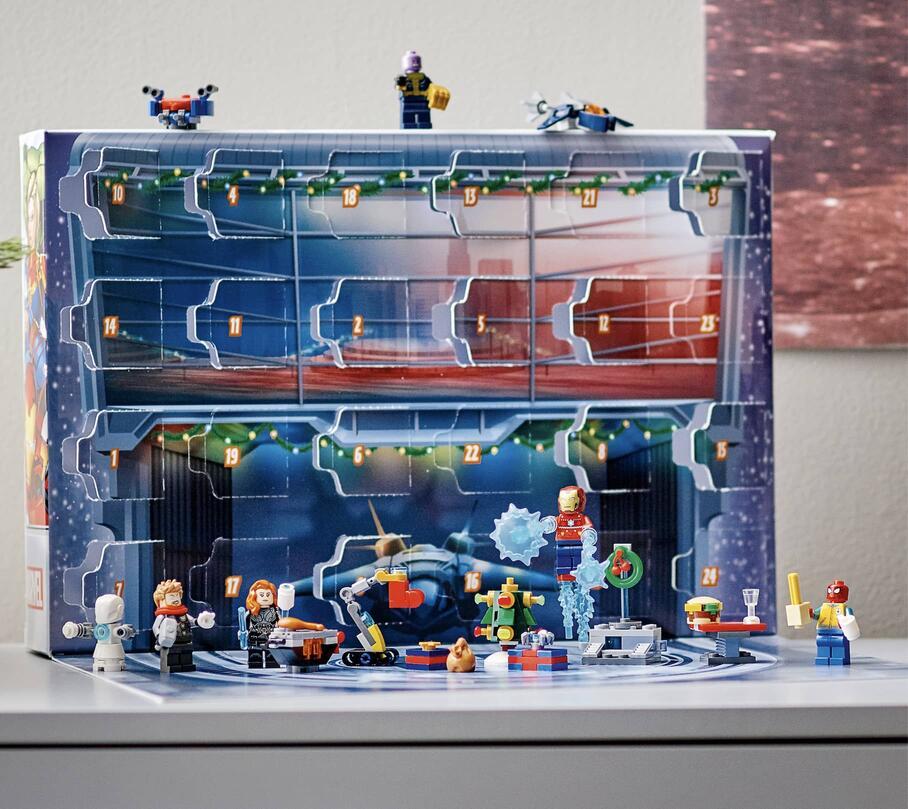 LEGO Marvel Advent Calendar 1
