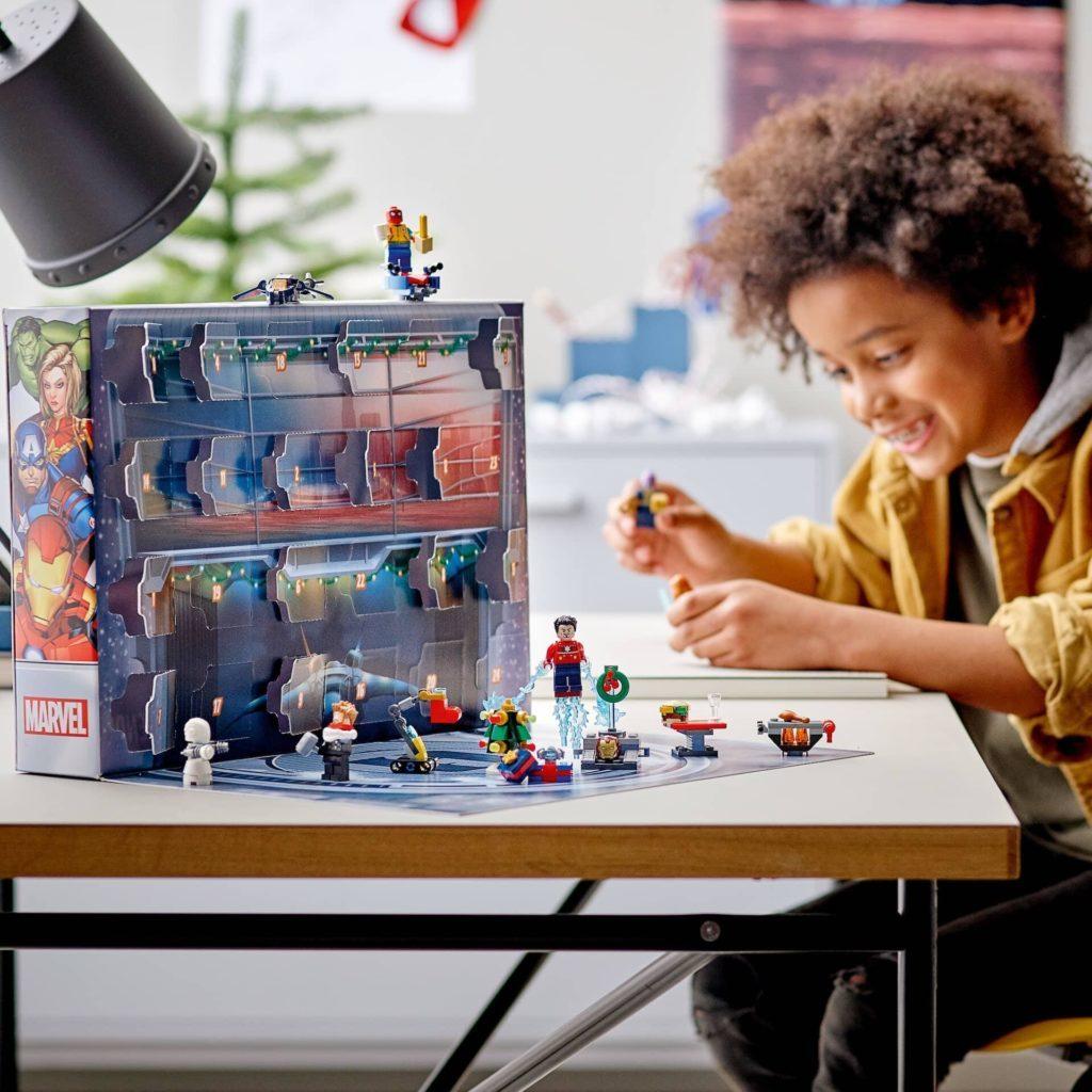 LEGO Marvel Advent Calendar Lifestyle 1