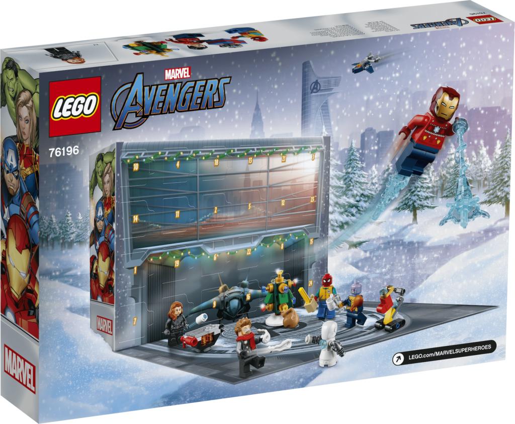 LEGO Marvel Advent Calendar box 3