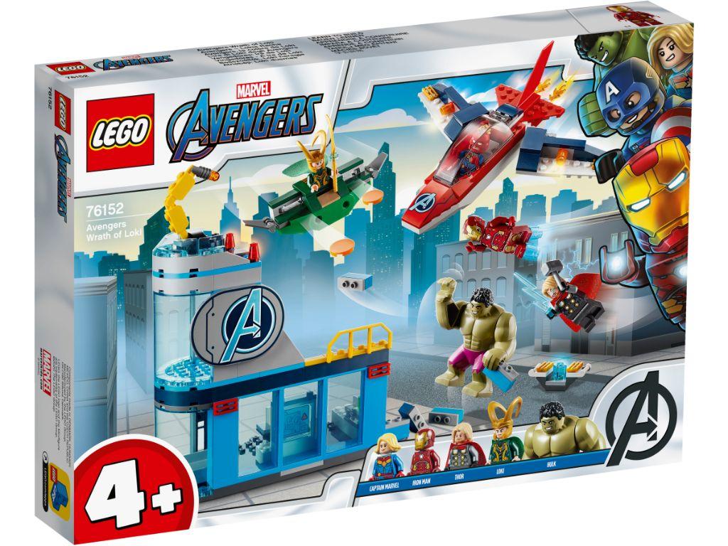 LEGO Marvel Avengers 76152 Avengers Wrath Of Loki 1