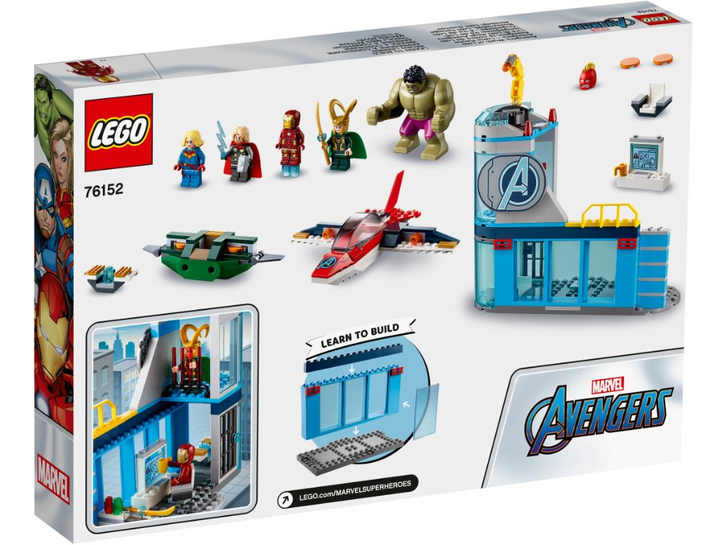 LEGO Marvel Avengers 76152 Avengers Wrath Of Loki 2