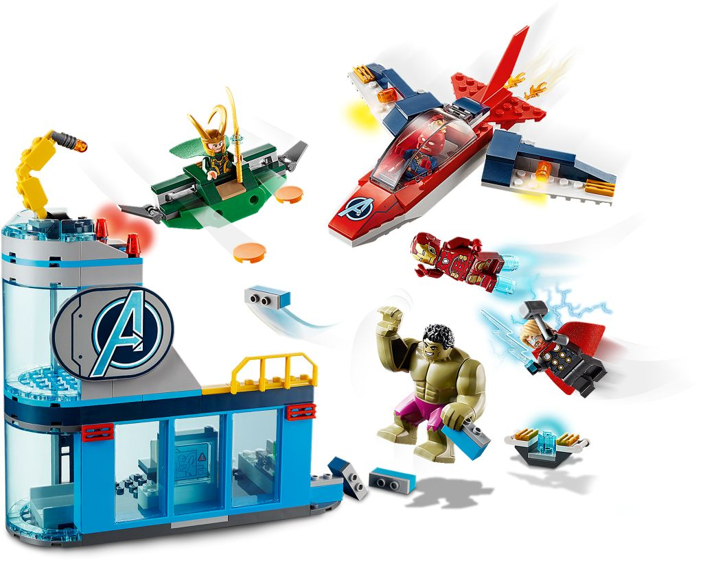 LEGO Marvel Avengers 76152 Avengers Wrath Of Loki 4