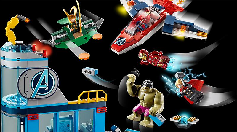 LEGO Marvel Avengers 76152 Avengers Wrath Of Loki Featured