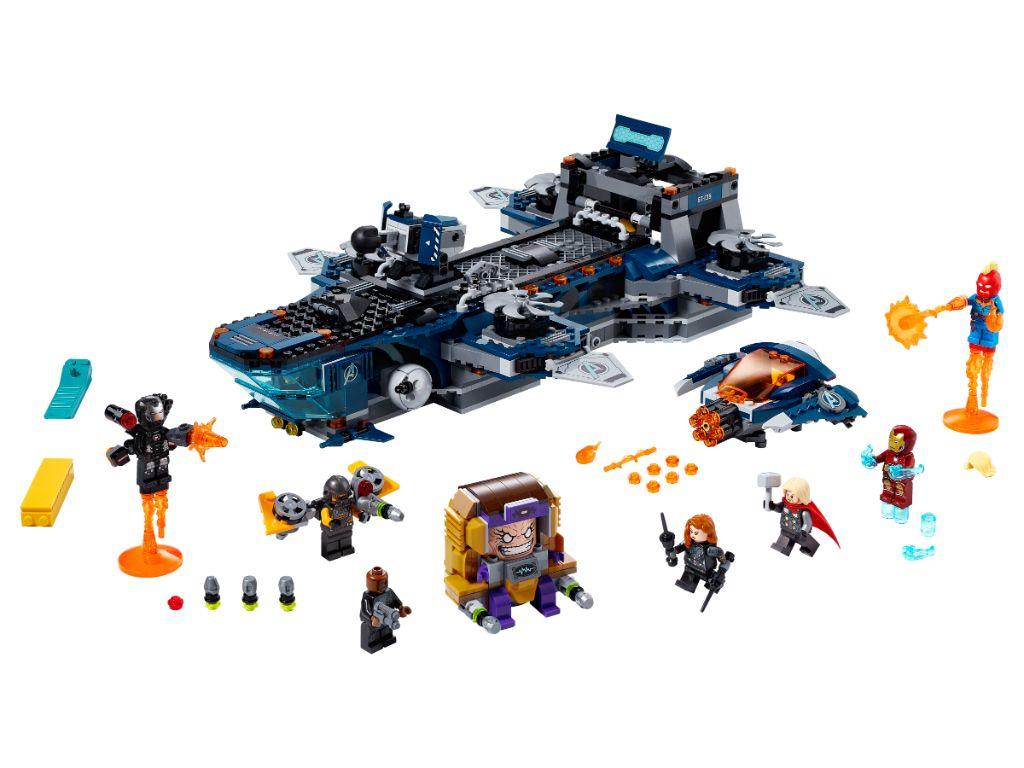 LEGO Marvel Avengers 76153 Avengers Helicarrier 3