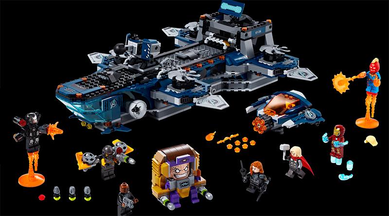 LEGO Marvel Avengers 76153 Avengers Helicarrier Featured