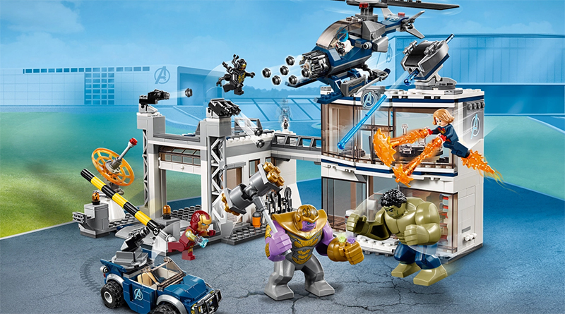 LEGO Marvel Avengers Compound Featured