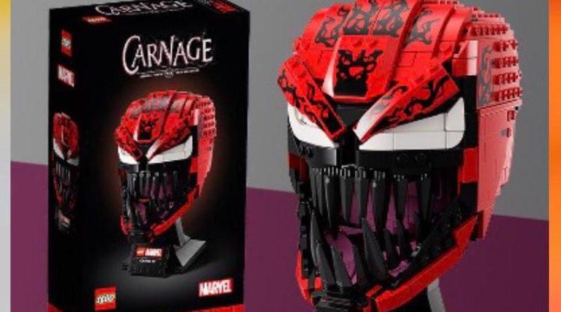 LEGO Marvel Carnage Helmet Target Ad Featured 800x445