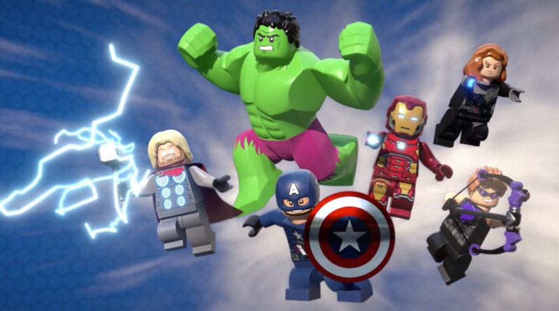 LEGO Marvel Climate conundrum movie key art featured