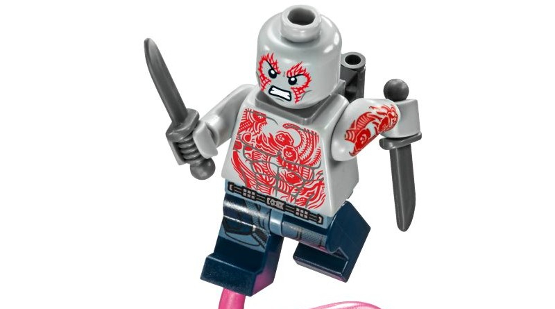 LEGO Marvel Drax Minifigure Featured