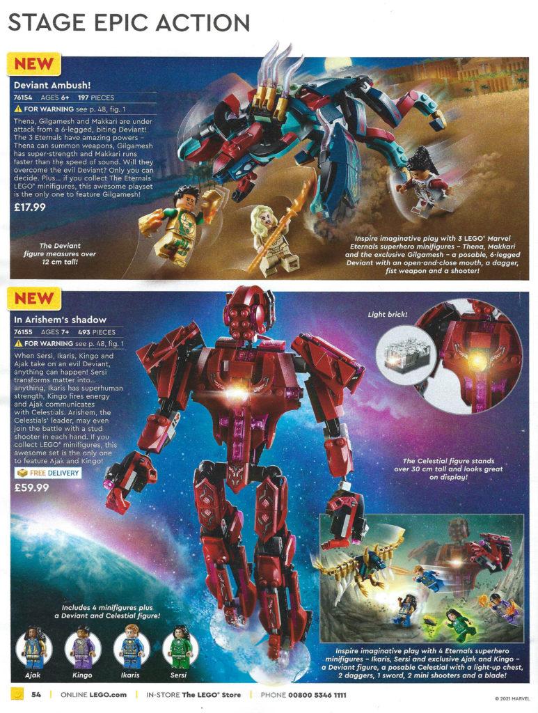 LEGO Marvel Eterenals UK price 2 1