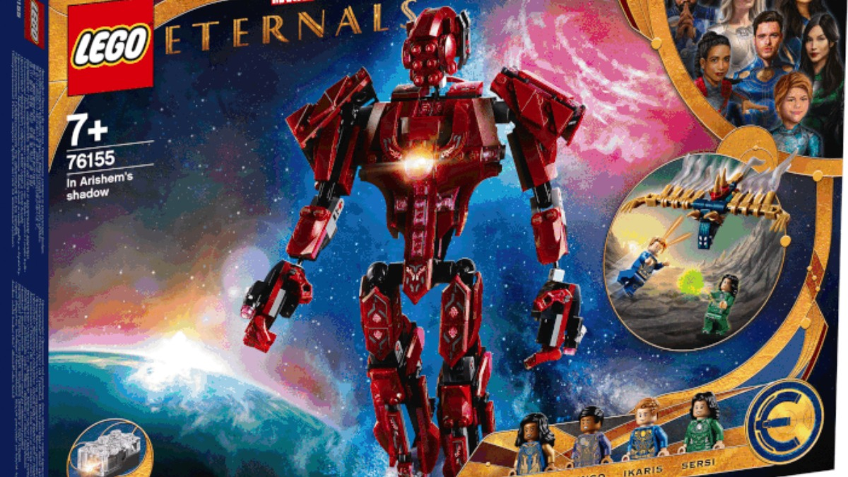 LEGO Marvel Eternals 76155 In Arishems Shadow