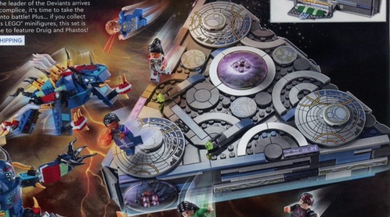 LEGO Marvel Eternals 76156 Rise Of The Domo Catalogue Featured