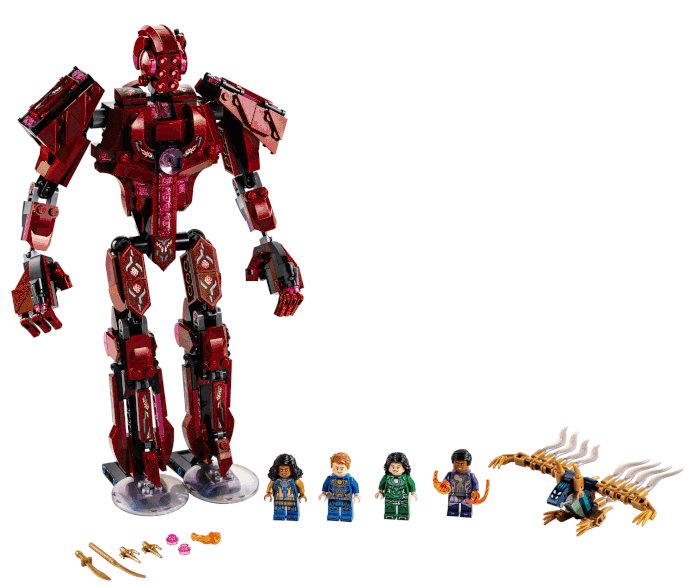 LEGO Marvel Eternals Yahoo 76155 In Arishems Shadow contents