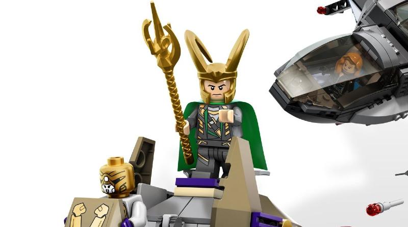 LEGO Marvel Loki 6869 Quinjet Aerial Battle Featured