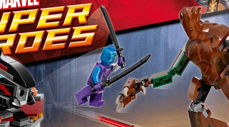 LEGO Marvel Nebula 76020 Knowhere Escape Mission box featured
