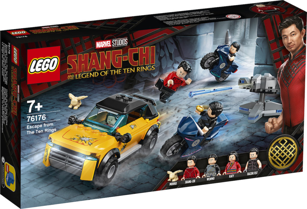 LEGO Marvel Shang Chi 76176 Escape From The Ten Rings 1