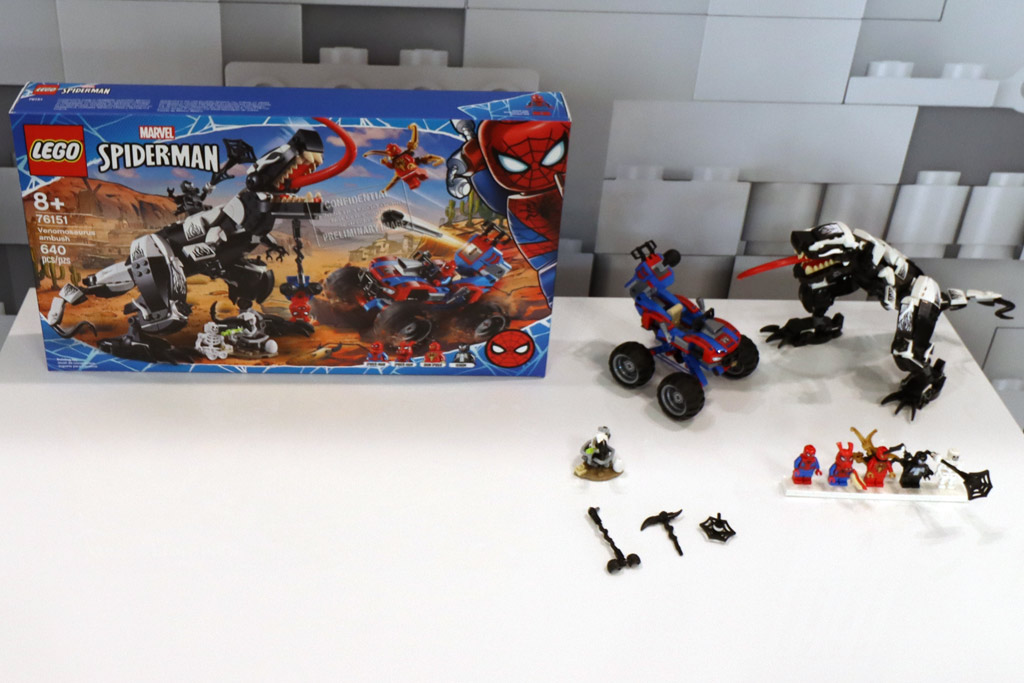 LEGO Marvel Spider Man 76151 Venomosaurus AMbush 1