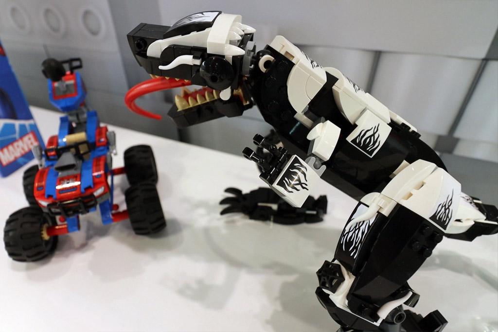 LEGO Marvel Spider Man 76151 Venomosaurus Ambush 5