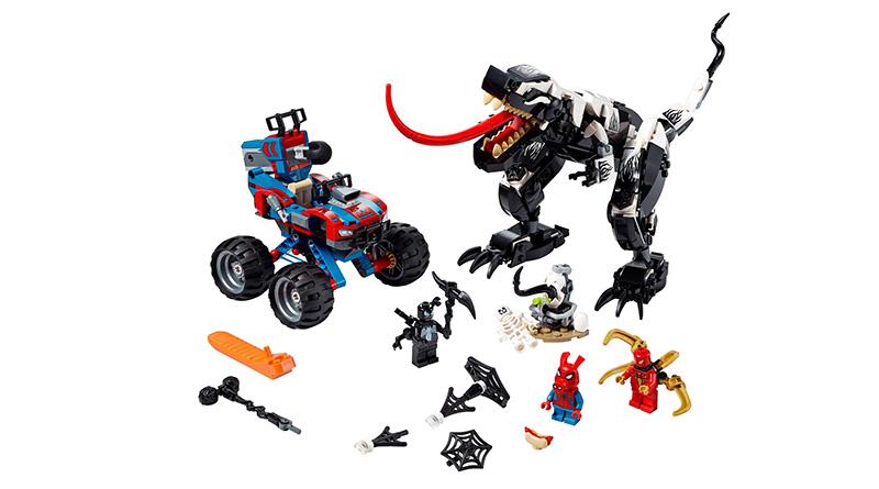LEGO Marvel Spider Man 76151 Venomosaurus Ambush 6