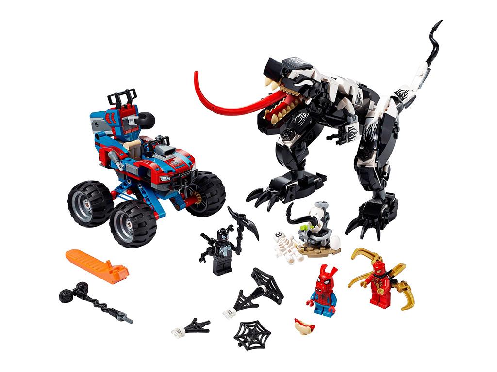 LEGO Marvel Spider Man 76151 Venomosaurus Ambush 7