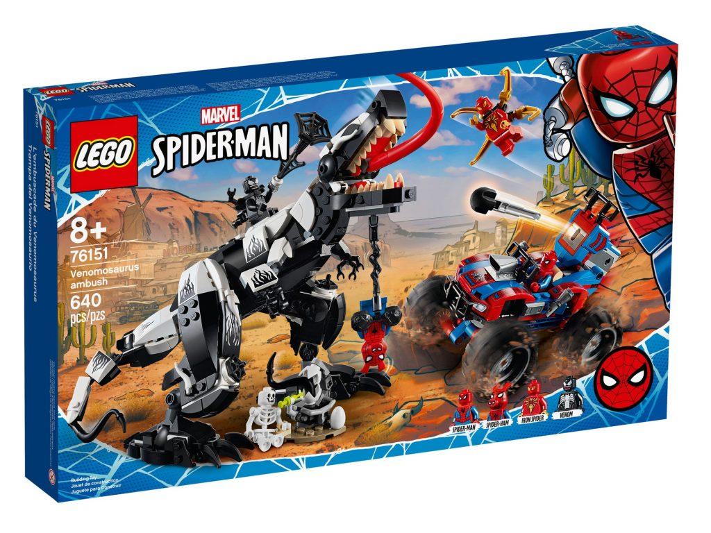 LEGO Marvel Spider Man 76151 Venomosaurus Ambush 8