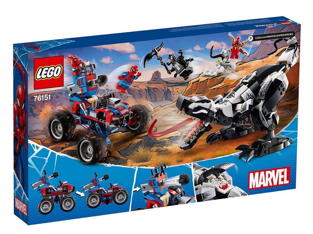 LEGO Marvel Spider Man 76151 Venomosaurus Ambush 9