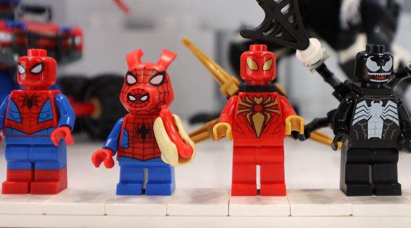 LEGO Marvel Spider Man 76151 Venomosaurus Ambush in primo piano 800 445