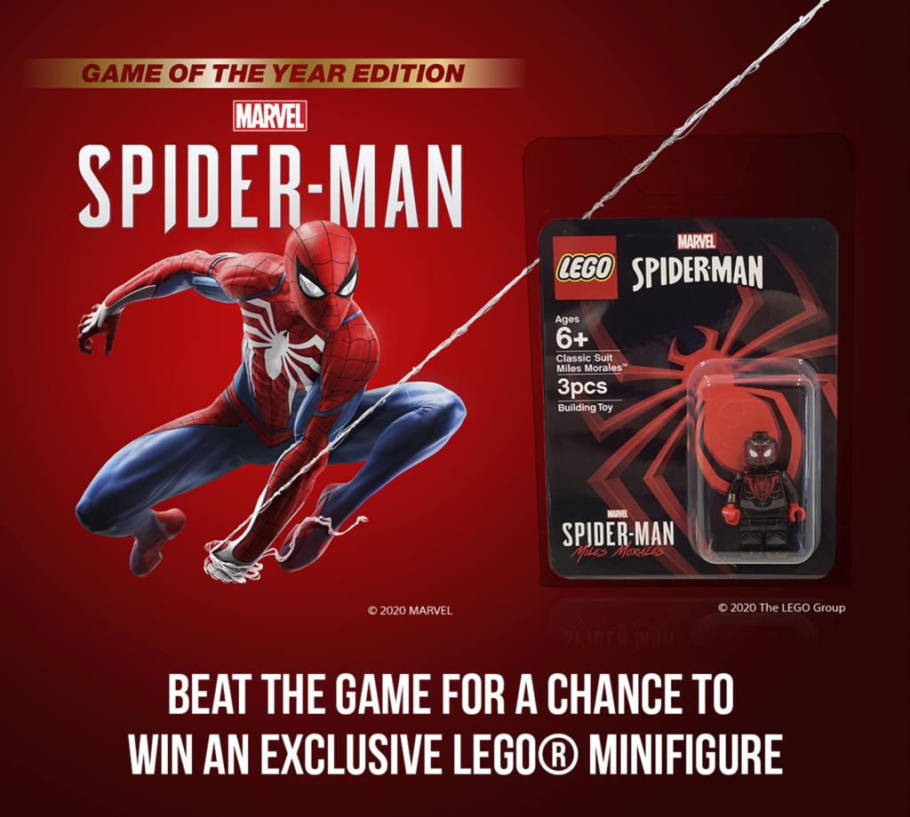 LEGO Marvel Spider Man MIles Morale
